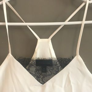 The Limited camisole top with lace detail